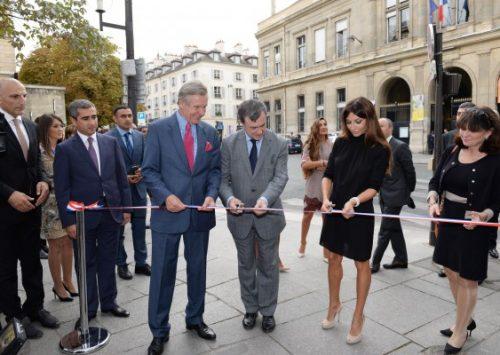 Ambassade d'Azerbaïdjan en France : Inauguration