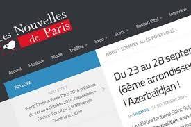 Nouvelles de Paris : Aux couleurs de l'Azerbaïdjan !