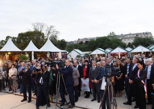 Azertac : Le « Village d'Azerbaïdjan » ouvre officiellement ses portes à Paris